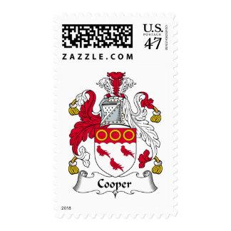 Cooper Family Crest Postage