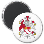 Cooper Family Crest Refrigerator Magnets