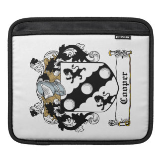 Cooper Family Crest Sleeves For iPads