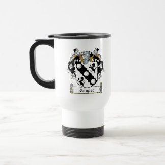 Cooper Family Crest Travel Mug