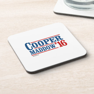 Cooper Maddow 2016 Beverage Coaster