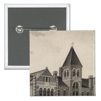 Cooper Memorial College, Sterling, Kansas Pinback Button
