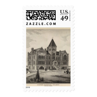 Cooper Memorial College, Sterling, Kansas Postage