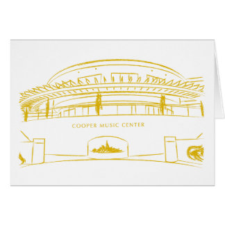 Cooper Music Hall Card