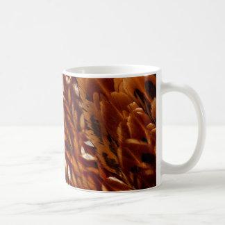Cooper Pheasant Feather Pattern Coffee Mug