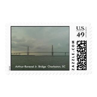 Cooper River Bridge  Charleston, SC Stamp