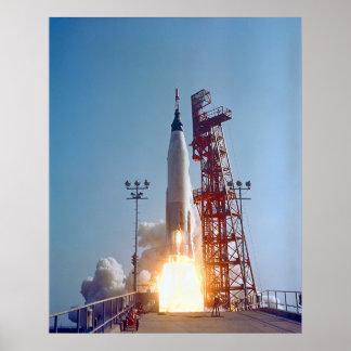 Cooper - Rocket Launch Poster