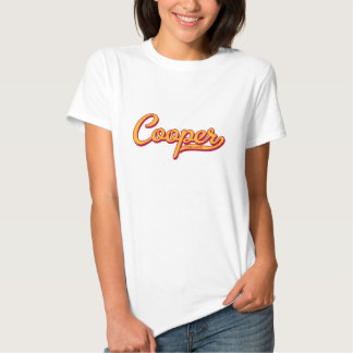 Cooper Script Baby Doll T Tshirt