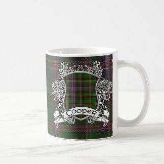 Cooper Tartan Shield Coffee Mug