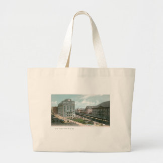 Cooper Union. NY City. Large Tote Bag