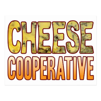 Cooperative Blue Cheese Postcard