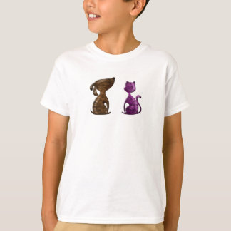 Cooperative Cat and Dog shirt design