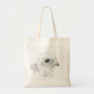 Coopers Hawk Chick Tote Bag