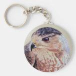 Coopers Hawk Keychain