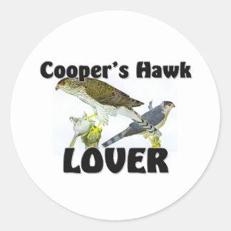 Cooper's Hawk Lover Sticker