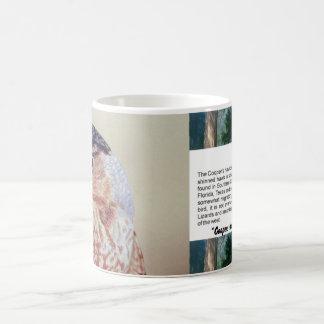 Coopers Hawk Classic White Coffee Mug