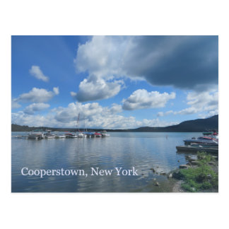 Cooperstown New York Otsego Lake Postcard