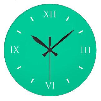 Coordinación durable verde del Caribe del color Reloj