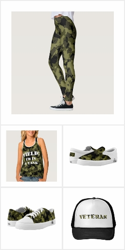 Coordinated military style funny gifts