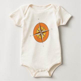 Coordinates Baby Bodysuit