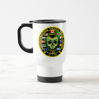 Coordinatiing Death From Above 15 Oz Stainless Steel Travel Mug