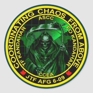 Coordinating Chaos From Above Stickers