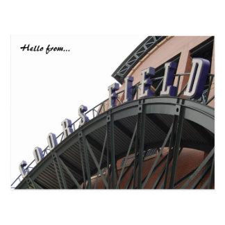 Coors Field Postcard