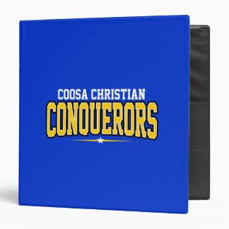 Coosa Christian Conquerors Vinyl Binders