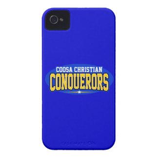 Coosa Christian; Conquerors Case-Mate iPhone 4 Cases