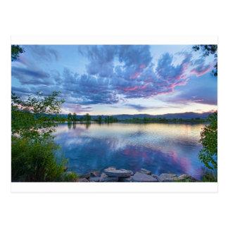 Coot Lake View Postcard