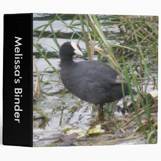 Coot on the Riverbank Custom Binder