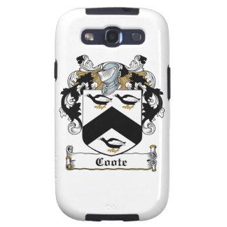 Coote Family Crest Samsung Galaxy S3 Cover