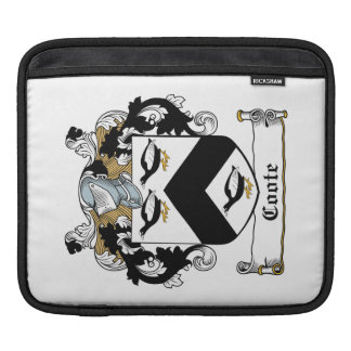 Coote Family Crest Sleeves For iPads