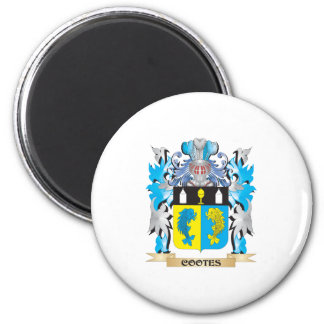 Cootes- Coat of Arms - Family Crest Fridge Magnets