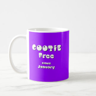cootie free classic white coffee mug
