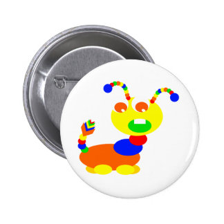 Cootie monster pin