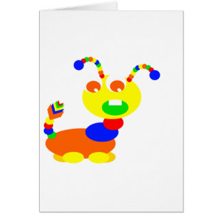 Cootie monster card
