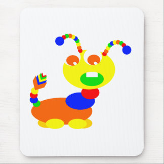 Cootie monster mouse pad