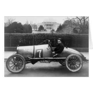 Cootie Race Car Vintage White House Photo Card