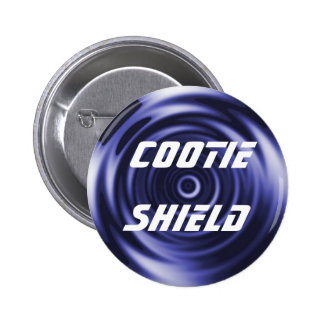 Cootie Shield pin
