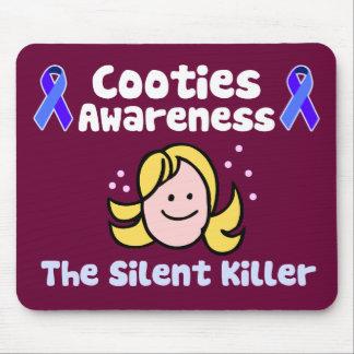 Cooties Awareness Mouse Pad