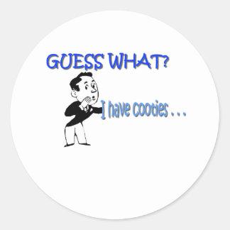 Cooties Classic Round Sticker