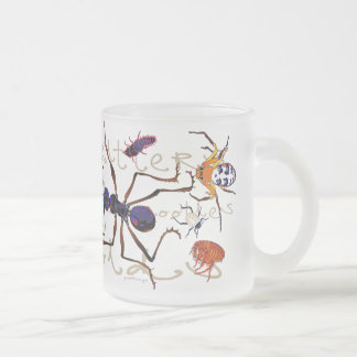 'Cooties' Frosted Glass Coffee Mug