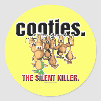 Cooties... Round Stickers
