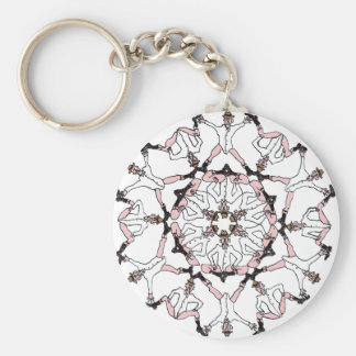 Coots a' la Busby Basic Round Button Keychain