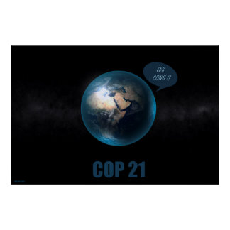 cop 21 poster