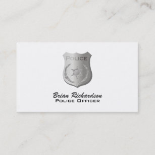 Policeman police officer business cards zazzle cop business cards colourmoves