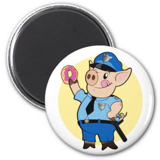 Cop Chops Magnet