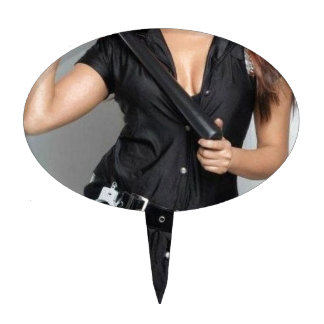 COP DOMME CAKE TOPPER