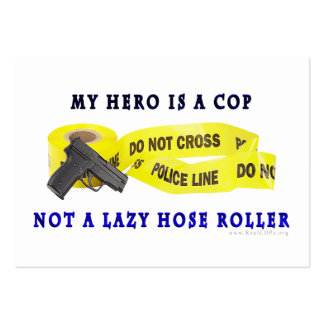 COP Hero Police Large Business Cards (Pack Of 100)